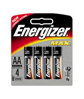 Energizer AA 4 pack