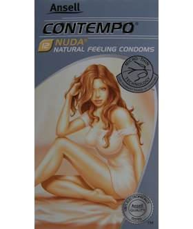 Ansell Contempo Nuda Condoms