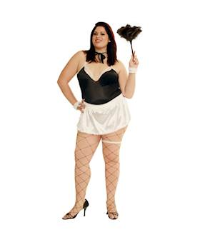Plus size costume French Maid