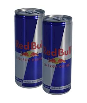 His & Her Red Bull