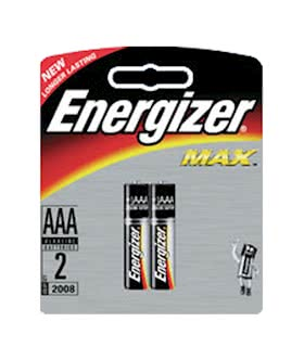 Energizer Max AAA 2 pack