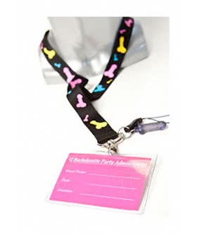 hens night dicky lanyard