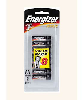energizer aa 8 pack