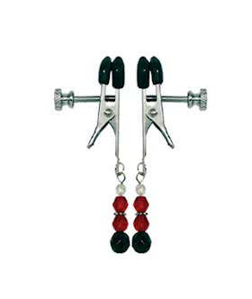 Adjustable Beaded Nipple Clamps