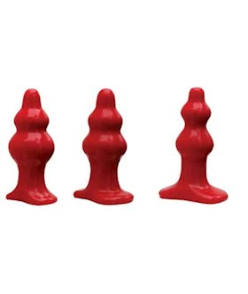 Red Tantus Severin Butt Plug