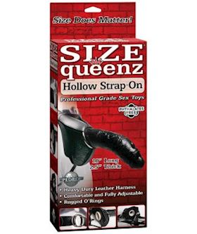 SIZE QUEENZ HOLLOW STRAP ON