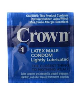 Crown Condoms 24 pack