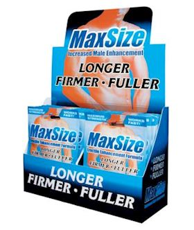 MaxSize- Erectile Enhancement (2 Tablet Pack)