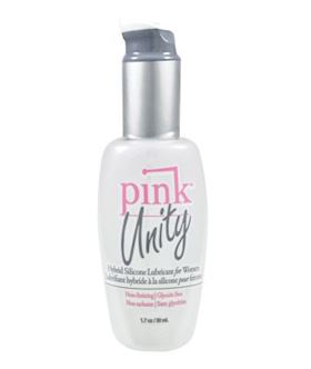 Pink Unity Hybrid Silicone Lubricant for Women