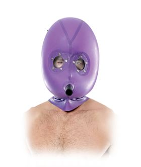 Inflatable Latex Gas Mask