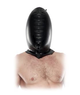 FF EXTREME - TOTAL BLACKOUT LATEX HOOD