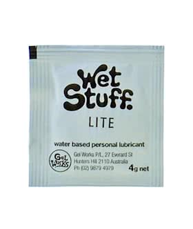 wet stuff Lite 4g sachet