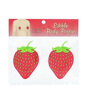 Strawberry Edible Body Pasties