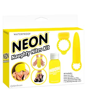 Neon Luv Touch Neon Naughty Nites Kit