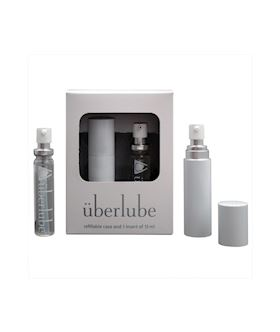 Uberlube Good To Go White Traveler