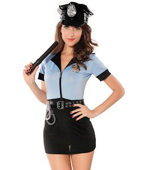 Officer Naughty Costume