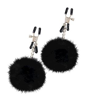Fetish Fantasy Limited Edition Pom Pom Nipple Clamps