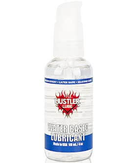 Hustler Water Based Lubricant - 120ml