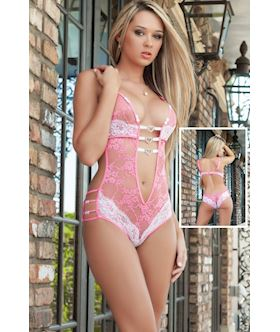 Erotic Foreplay Lace Teddy