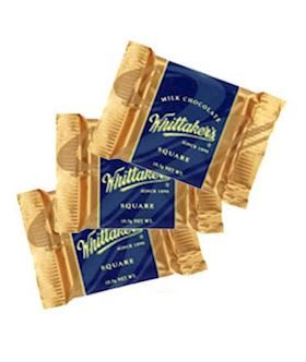 Whittakers Milk Chocolate Square x 3