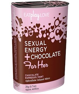 For Her Sexual Energy+Chocolate Espresso Mint