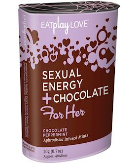 For Her Sexual Energy+Chocolate Peppermint
