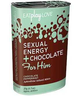 For Him Sexual Energy+Chocolate Peppermint