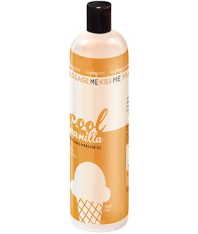 Massage Me- Edible Cooling Oil, Vanilla