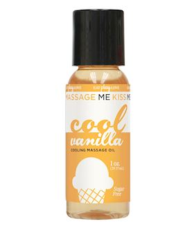 Massage Me- Cooling Vanilla, 1oz.
