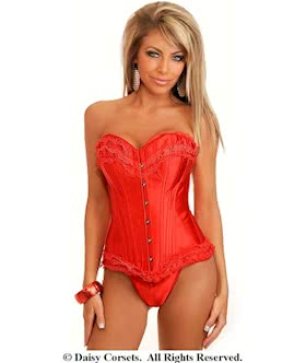 sizzling hot burlesque corset