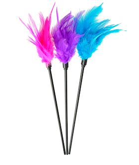 Lovers Feather Tickler - Blue