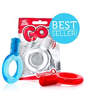GO Vibe Ring in candy bowl assorted