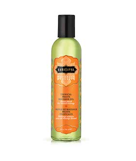 Kama Sutra Naturals Massage Oil - Tropical Fruit