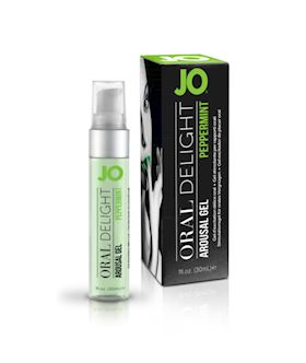 JO Oral Delight - Peppermint Pleasure 1oz 30ml
