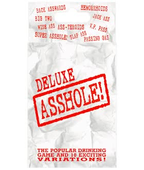 Deluxe Asshole! Card Game