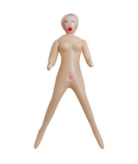 3 Holes Blow-Up Doll - Briana