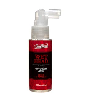 GoodHead - Wet Head - Dry Mouth Spray - Juicy Apple