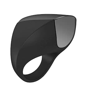 OVO A1 Rechargeable Ring Black/Chrome