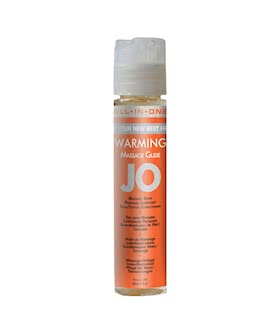 JO Massage Glide Warming 1oz 30ml