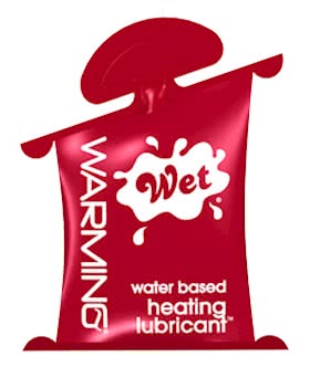 Wet Warming Lubricant - 10mL Pillow Pack