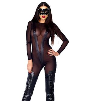 Safeword Mesh Catsuit - M/L
