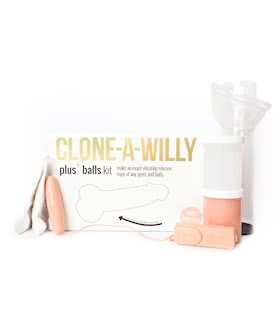 Clone-A-Willy Plus Balls Kit