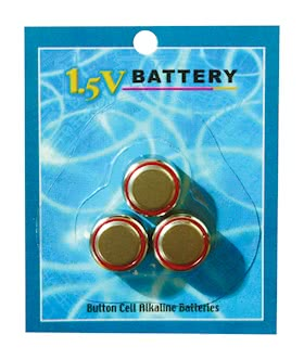 BATTERY WATCH CELL 3PC. CARDED