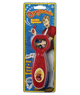 ORGASMIC BOTTLE OPENER