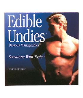 EDIBLE UNDIES-MENS CHERRY