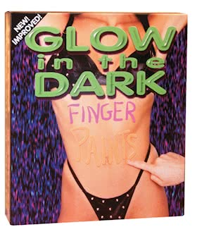 GLOW BODY FINGER PAINTS (NEW BOX)