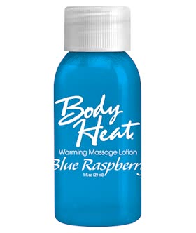BODY HEAT 1 OZ. COOL BLUE RASPBERRY