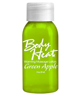 BODY HEAT 1 OZ. GREEN APPLE