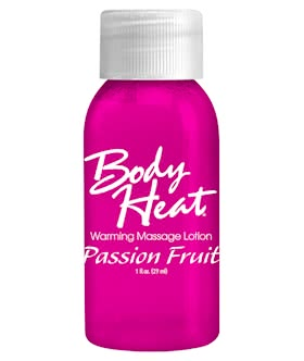 BODY HEAT 1 OZ. PASSION FRUIT