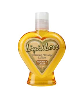 LIQUID LOVE 4 OZ. PEACHES N CREAM